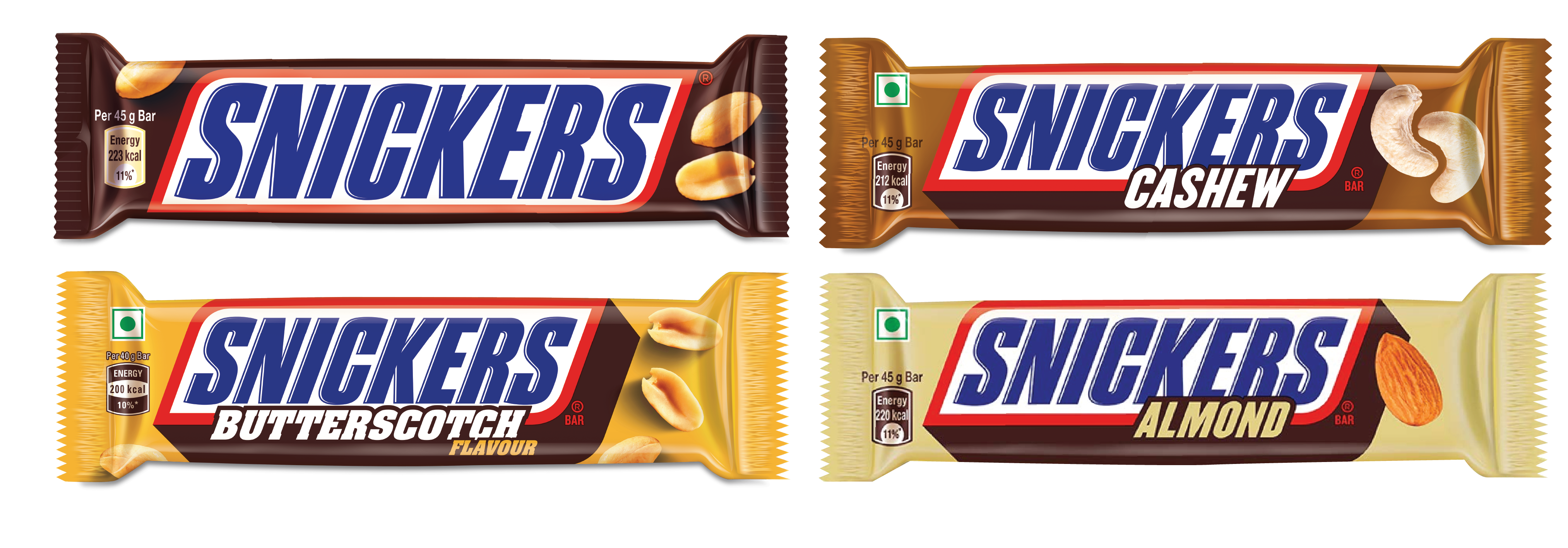 Gift packaging for Snickers