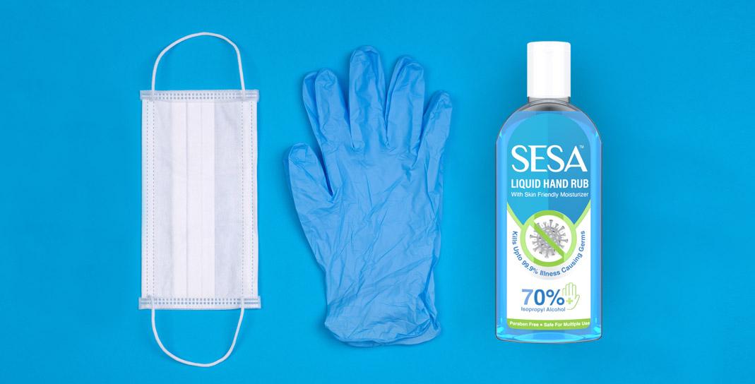 Packaging Design for Liquid Hand Rub - SESA