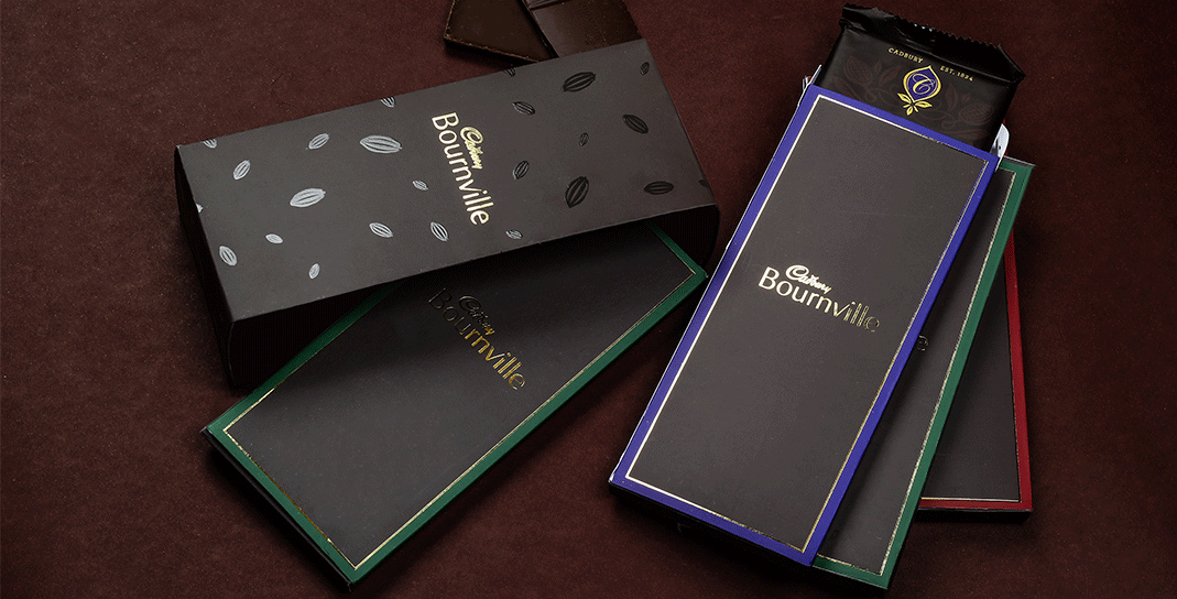 Luxury Confectionary Packaging Design - Cadbury Bournville