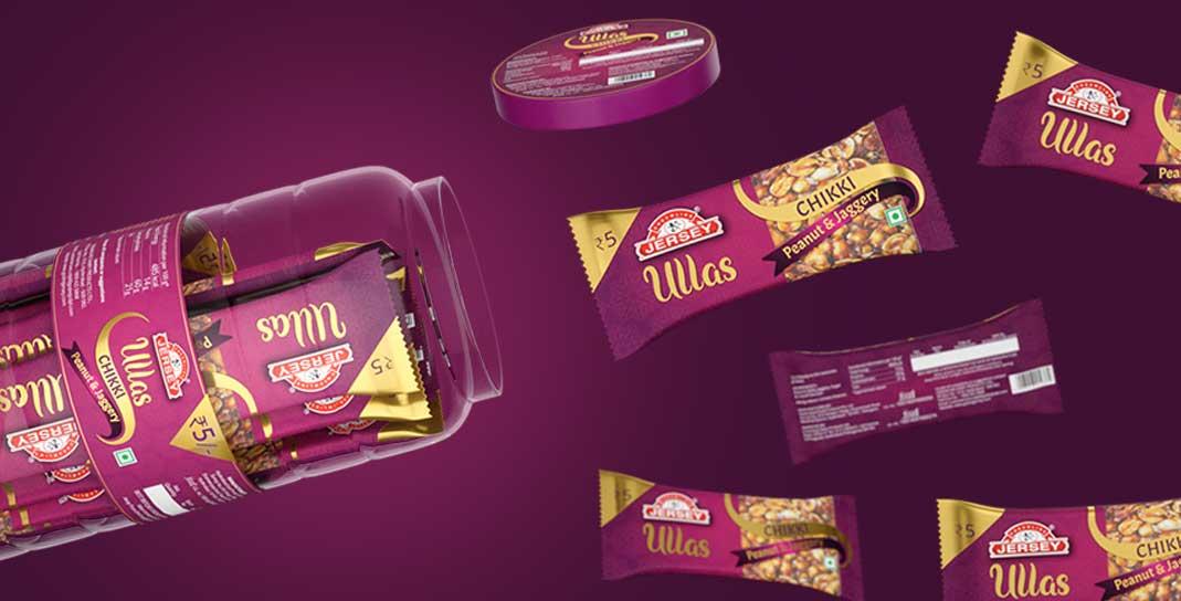 Brand & Packaging Design for Festive sweets - Godrej Jersey Ullass