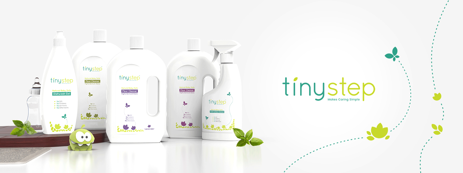 Brand Strategy & Design for Baby-care products - Tinystep