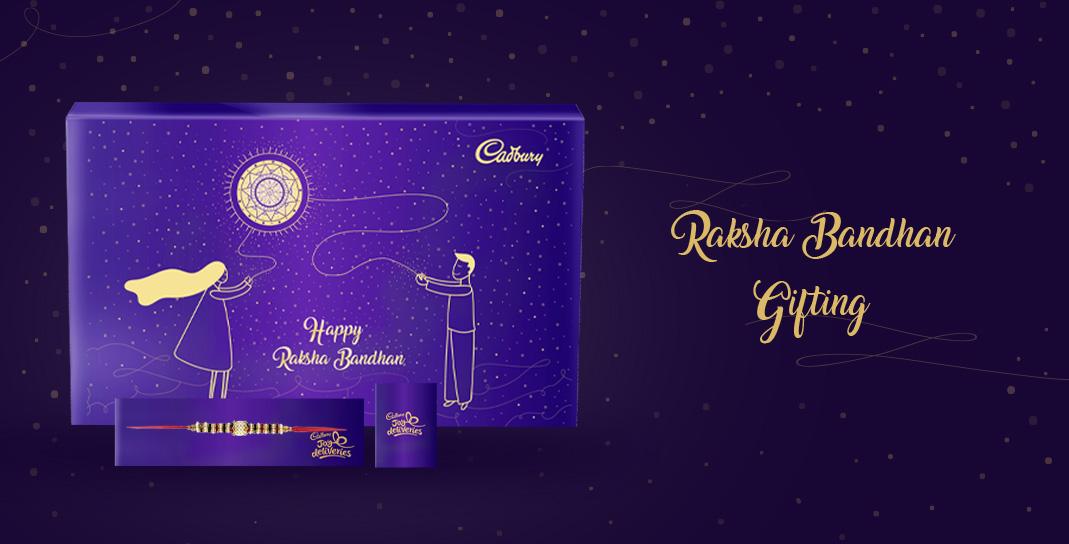 Festival Chocolate Gift Packaging Cadbury - Raksha Bandhan