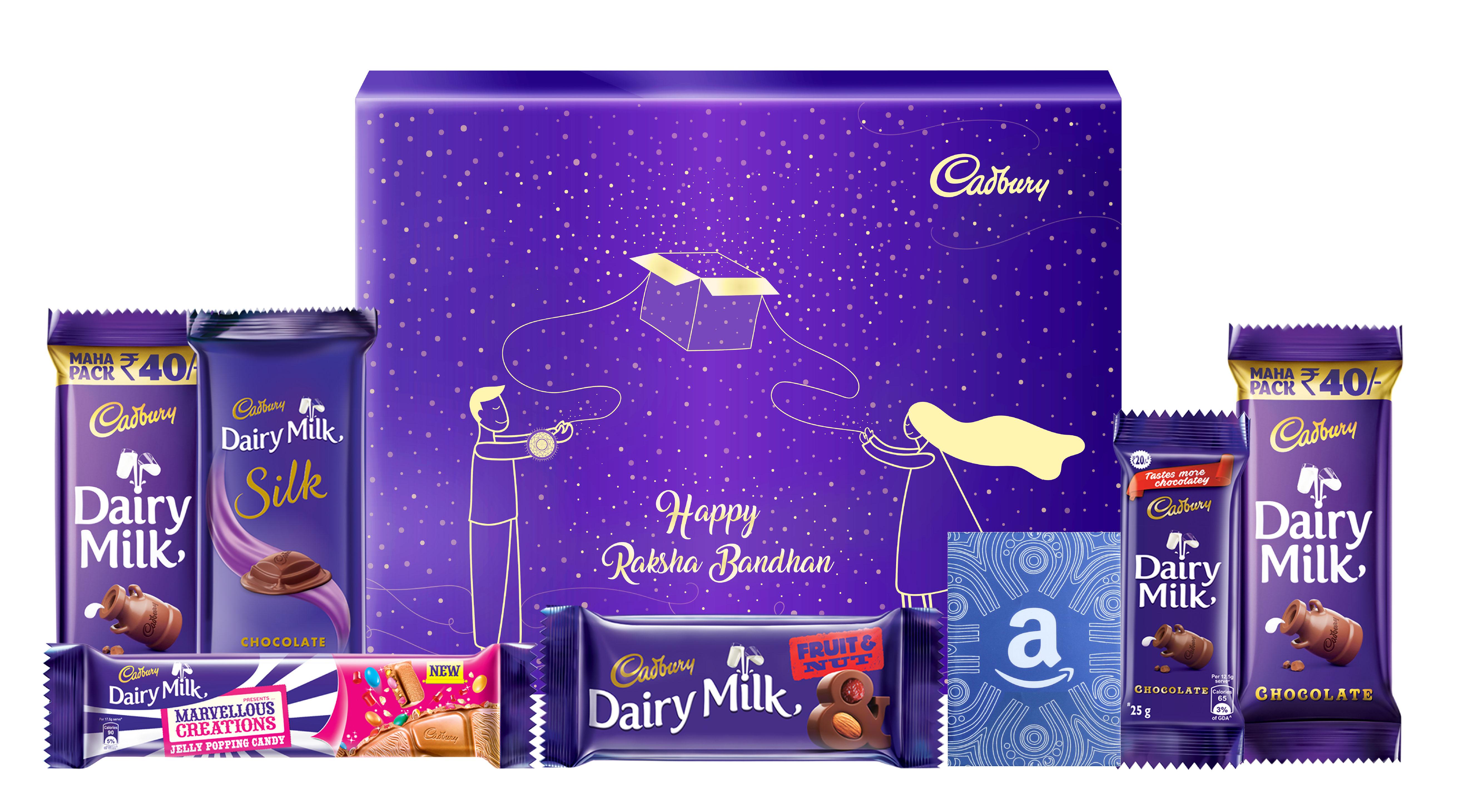 Festival Chocolate Gift Packaging Set - Cadbury