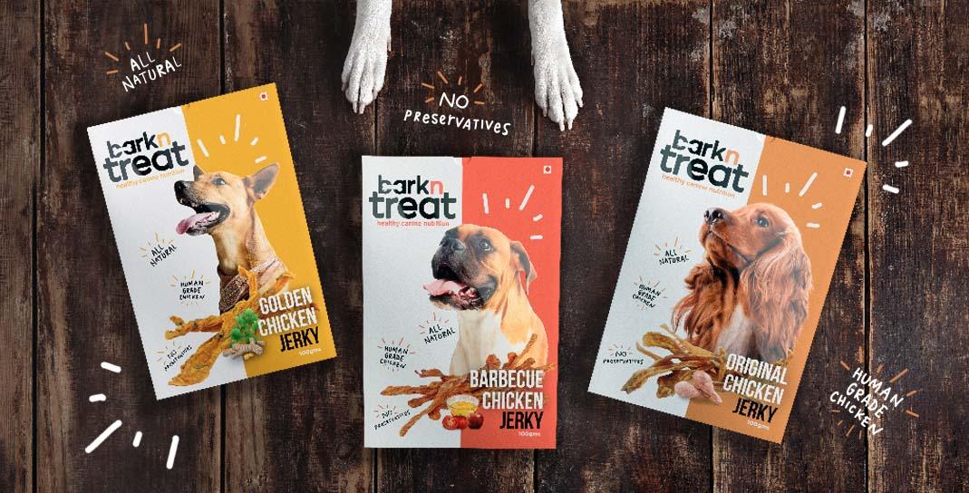 Bark n Treat - Dog Nutrition Brand & Packaging Design