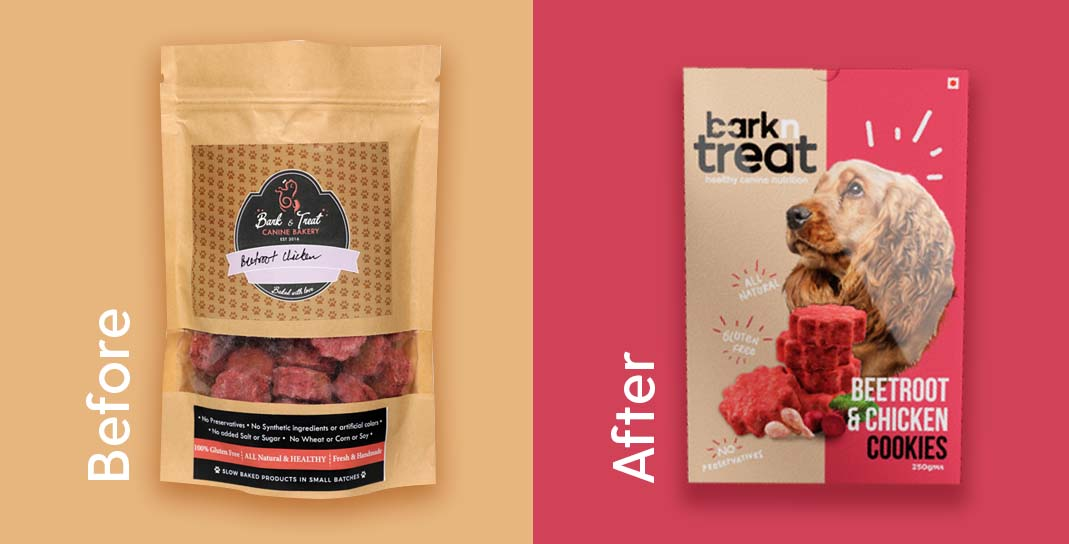 Bark n Treat Brand & Packaging Design