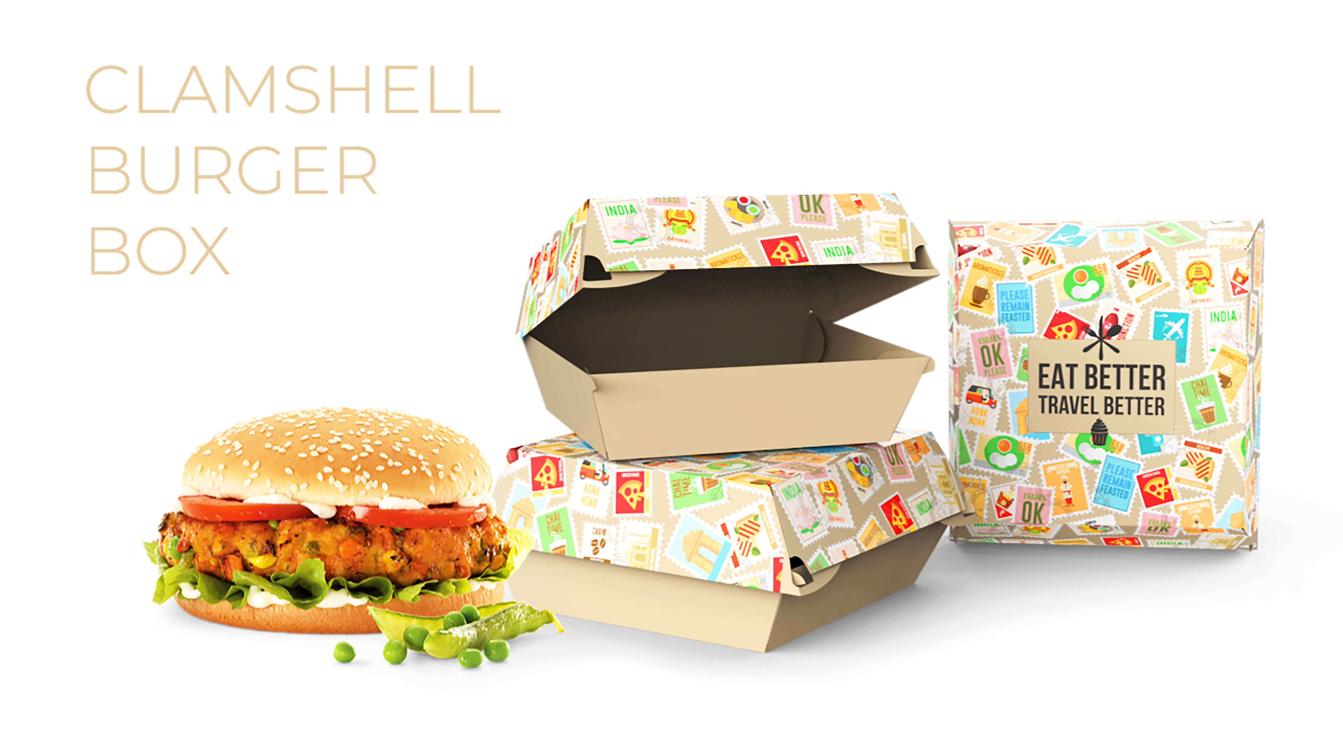 Food Packaging for Takeaway at Airports - TFS | Burger Box