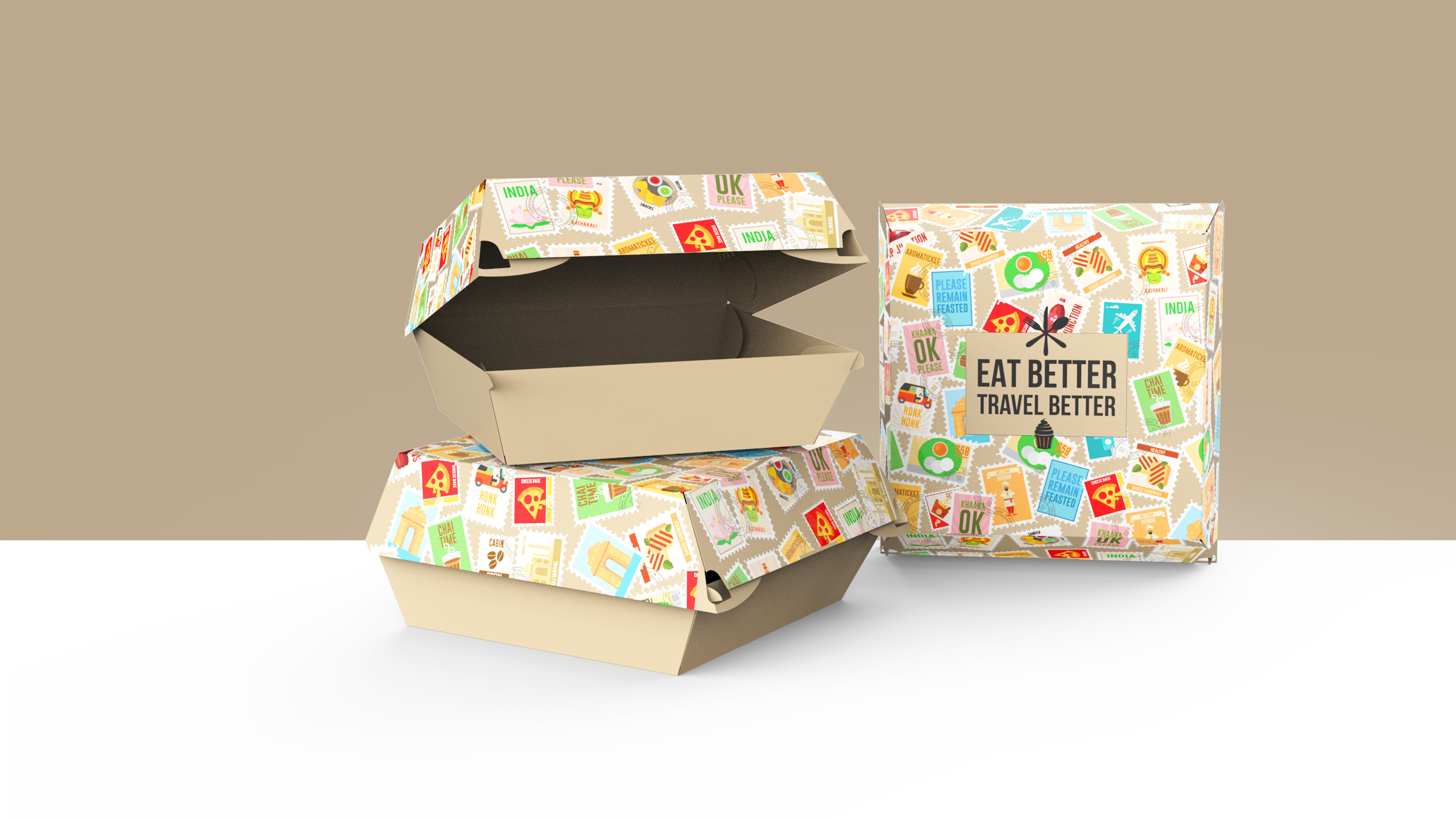 Food Packaging for Takeaway at Airports - Travel Food Services