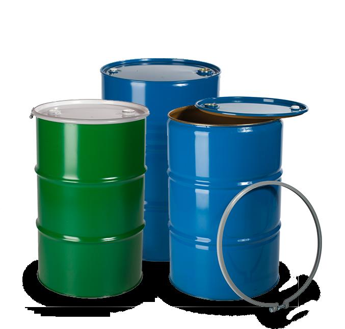 Metal drums - chemical packaging