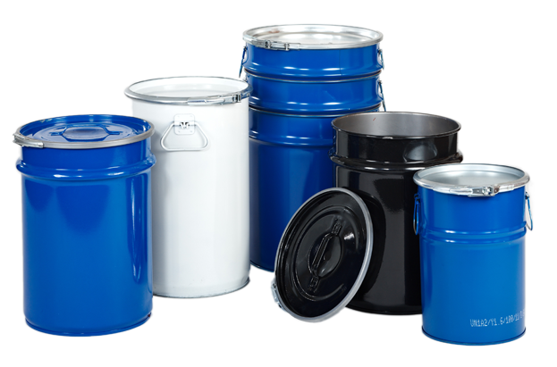 Lacquer lined drums - Chemical packaging