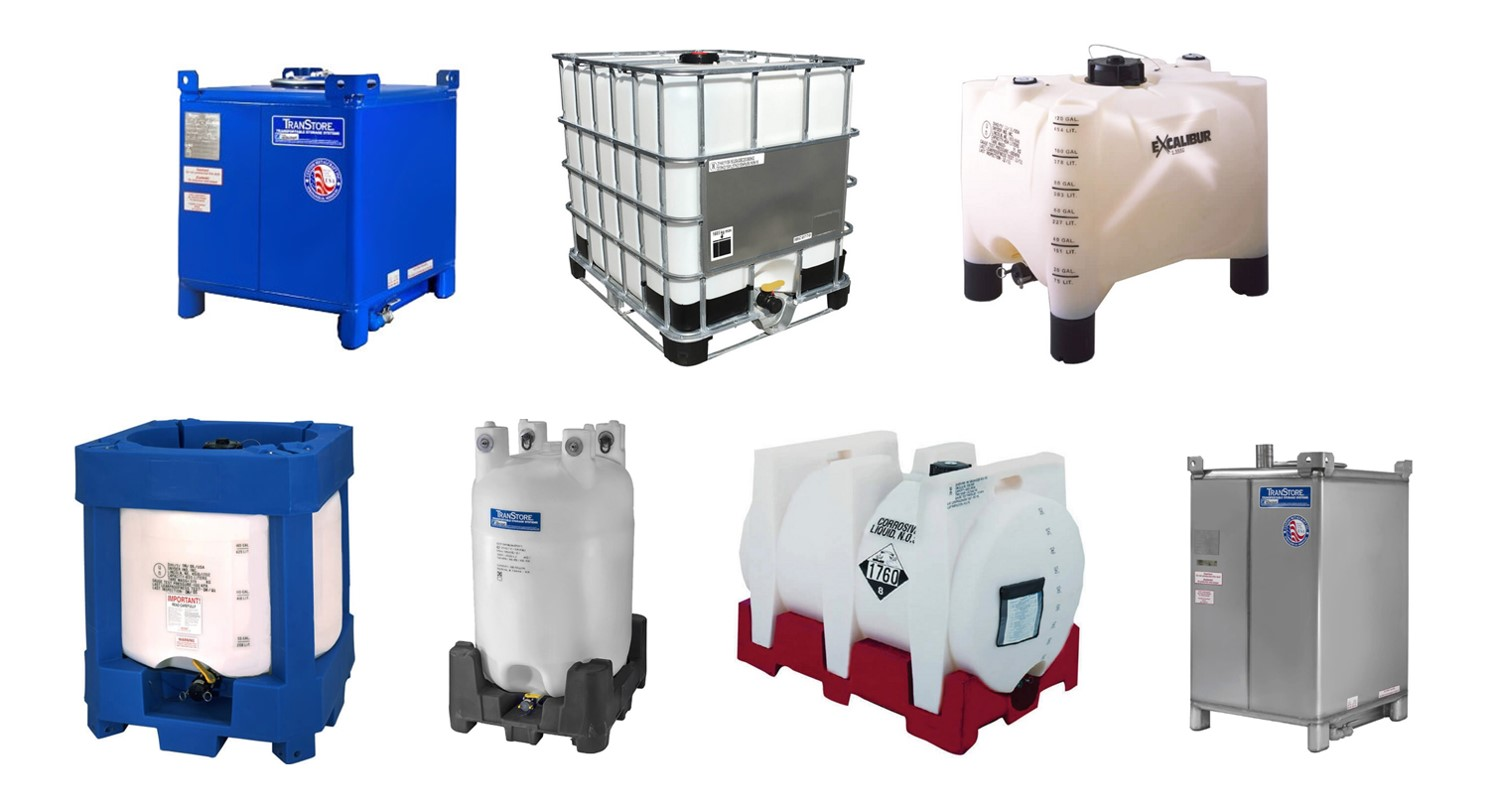 Intermediate bulk containers - chemical packaging
