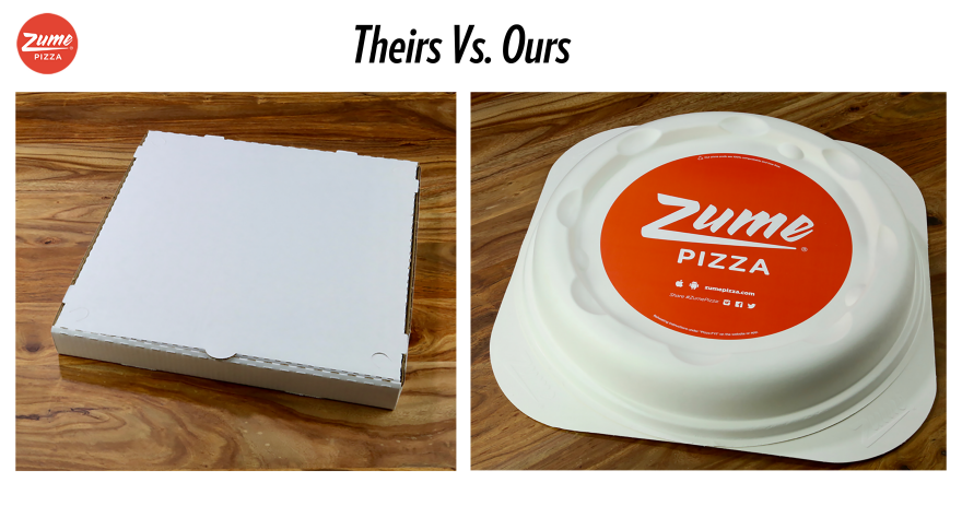 Packaging Innovation - Zume Pizza