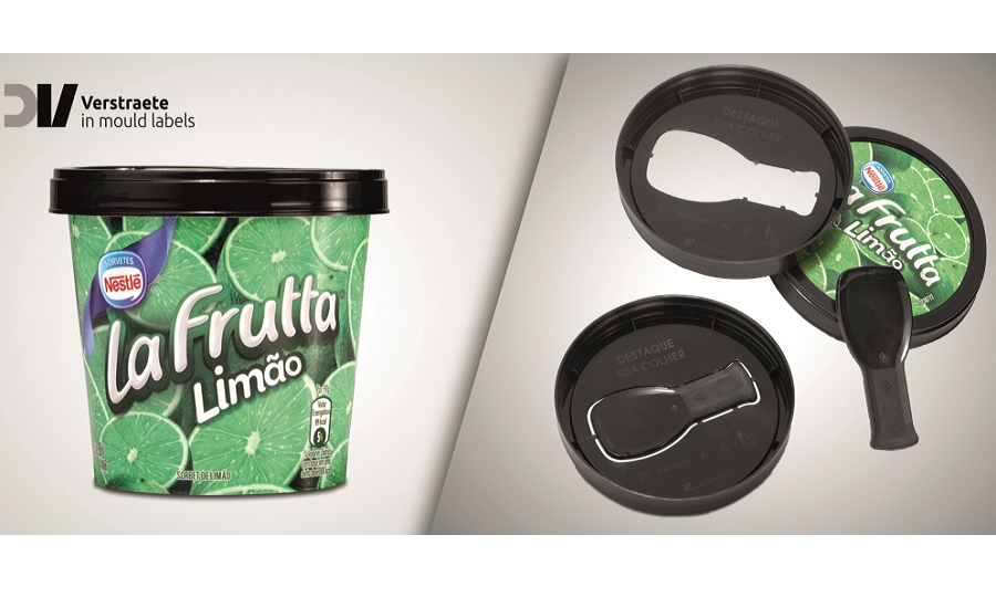 Packaging Innovation - Froneri | Integrated Spoon With Ice Cream Cups