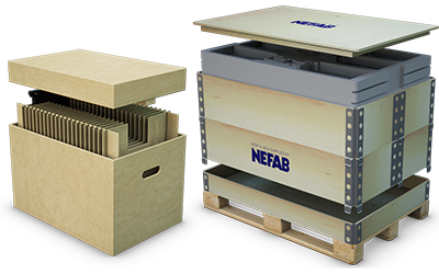 Packaging Innovation -Securing Shipments