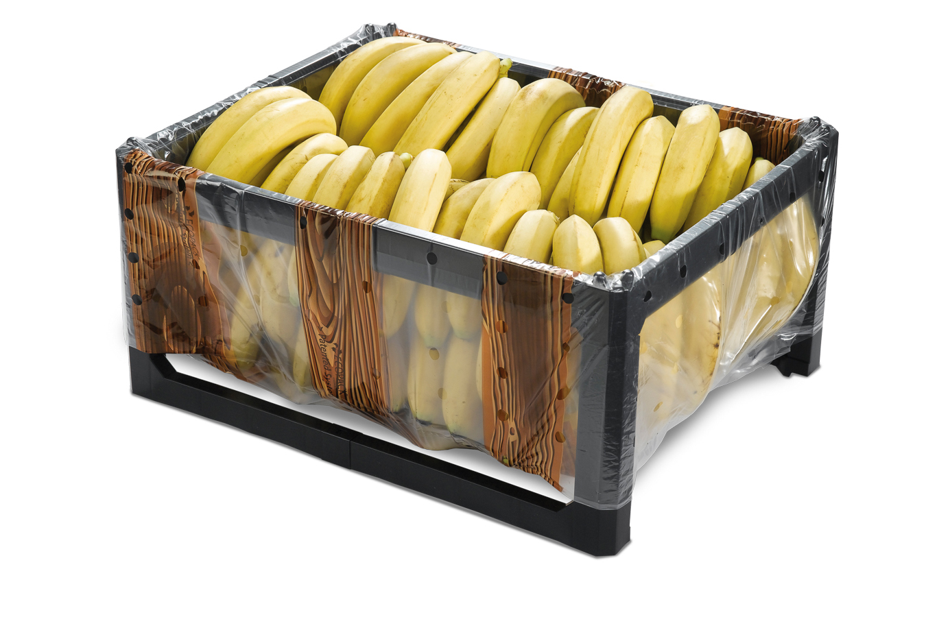 Packaging Innovation- Ecopack Biodegradable & Reusableood Crate