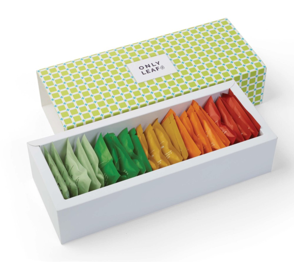 TeaBox - Tea leaves packaging - Teapac