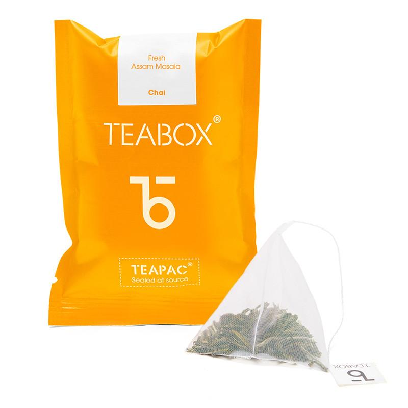 TeaBox - Coloured Tea Sachets