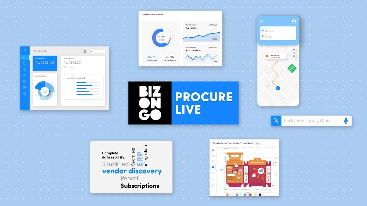 Procure Live - Data automation | Supply Chain