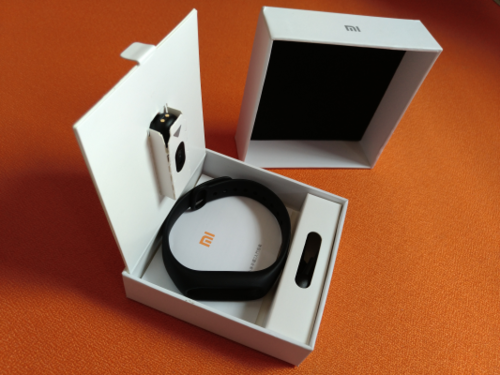 xiaomi MI band 2 fitness packaging review