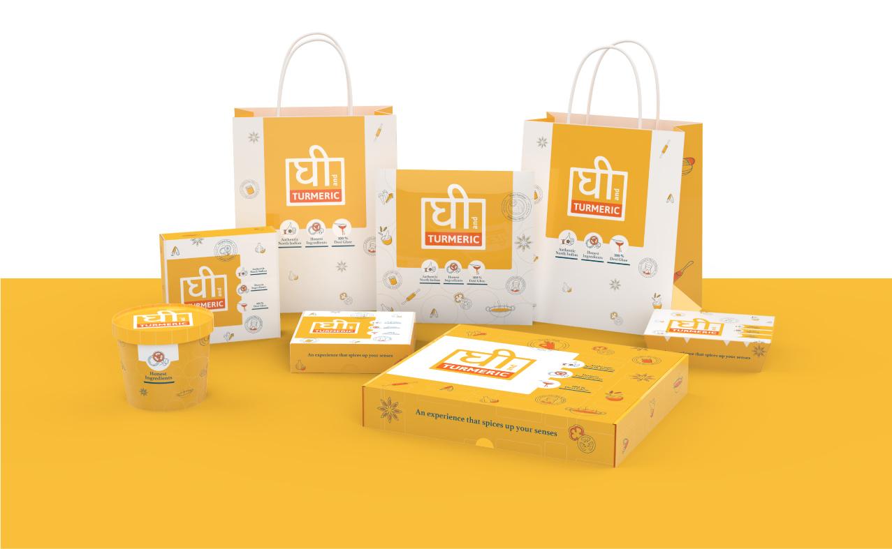 Ghee and Turmeric | Packaging Design & Branding