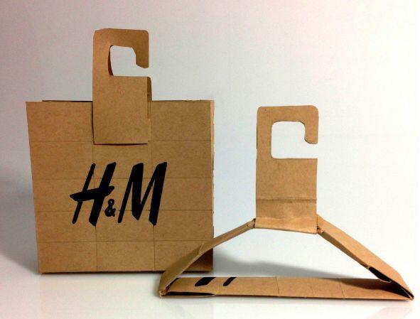 innovative fashion retail packaging - H&M
