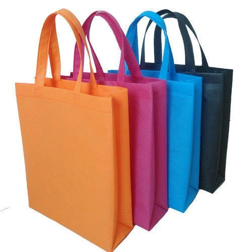 Non-Woven Gusset Bags - In different olours