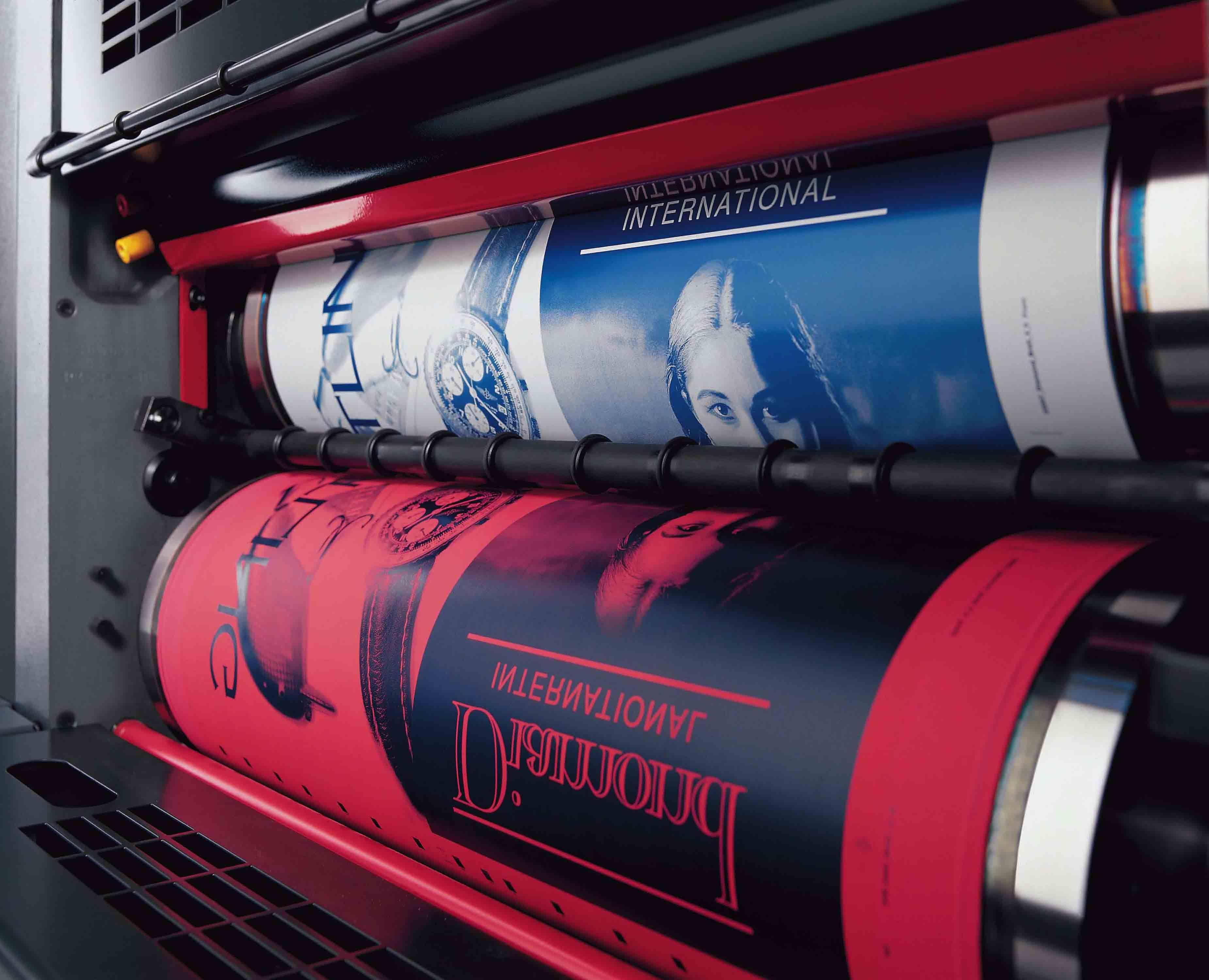 Custom Packaging - Printing Process