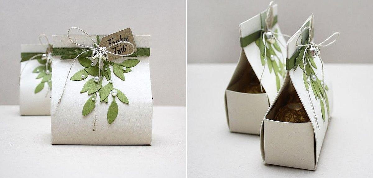 Paper Gift Box Idea #3: Brighten the room