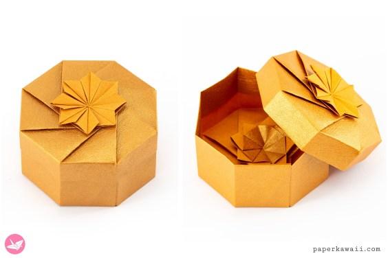 Paper Gift Box Idea #4: Origami