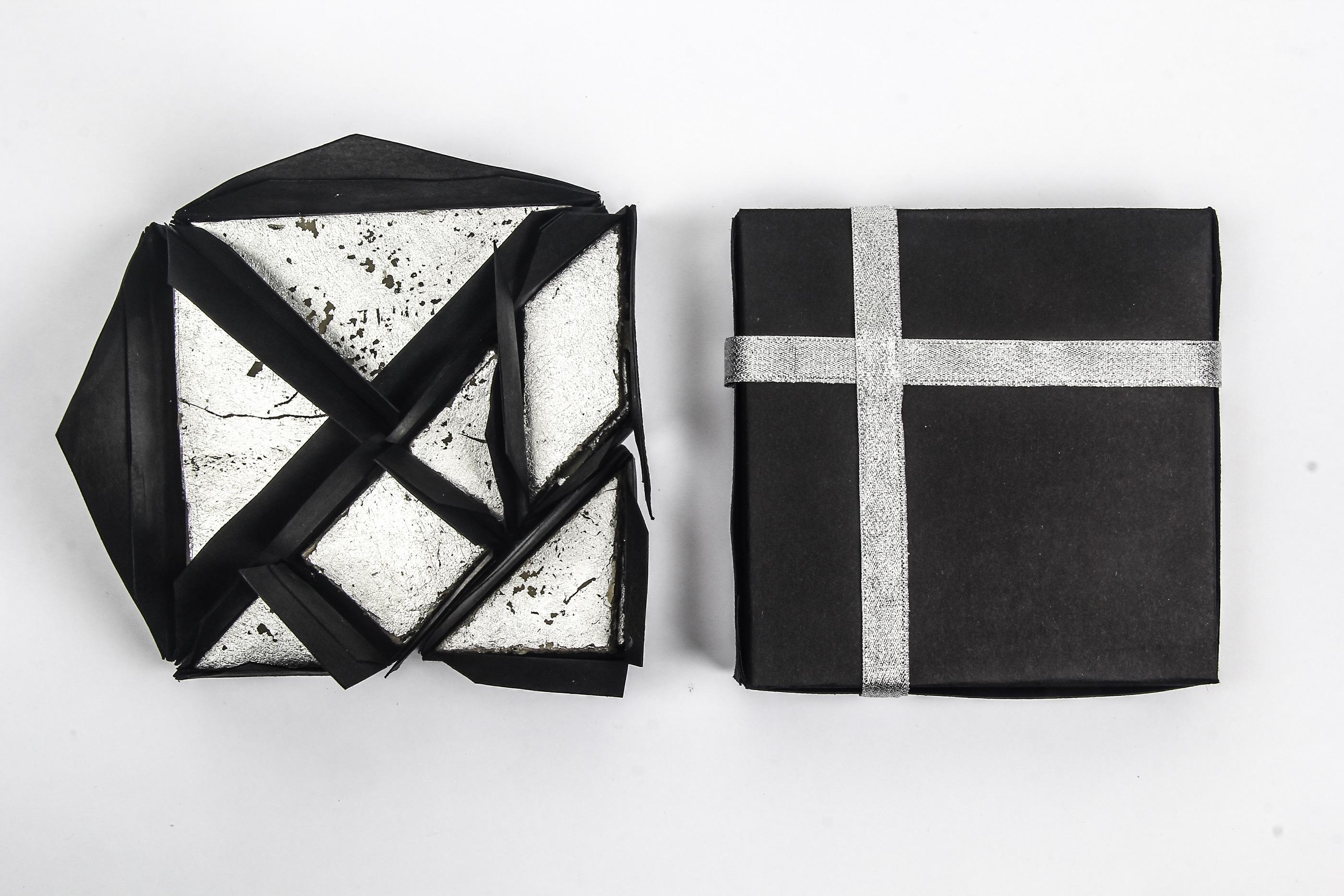 Kaju Katli Packaging : Tangram Edition