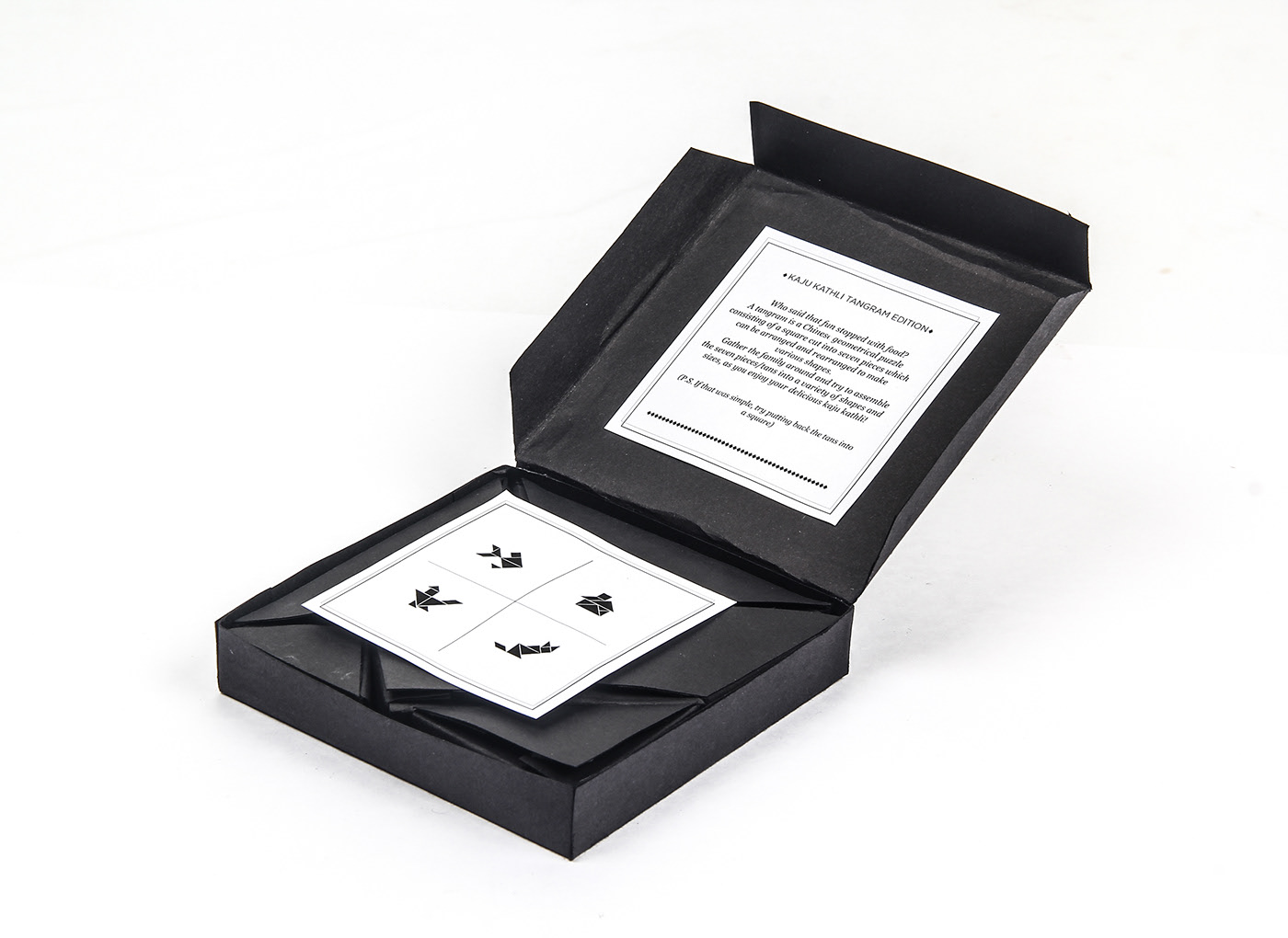 Kaju Katli Packaging : Tangram Play Things