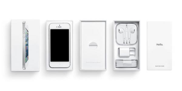 apple minimalist packaging