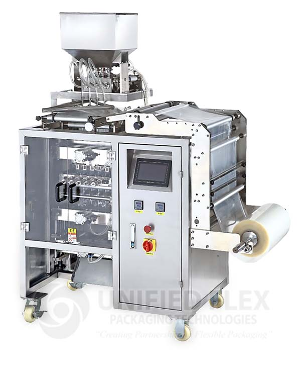 Packaging Automation System -  Multi-Lane Sachet Packaging System by Bosch