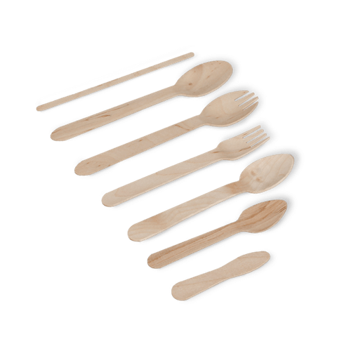 Biodegradable Cutlery | Wooden