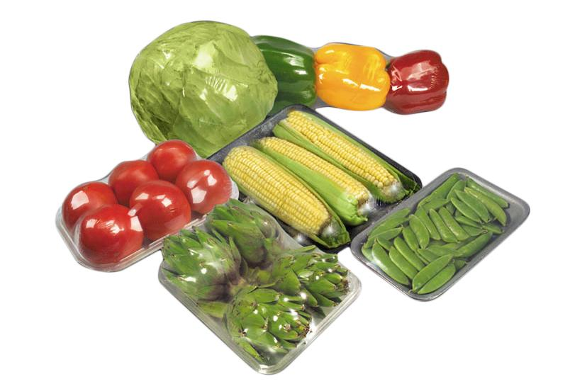 Food packaging shrink wrap