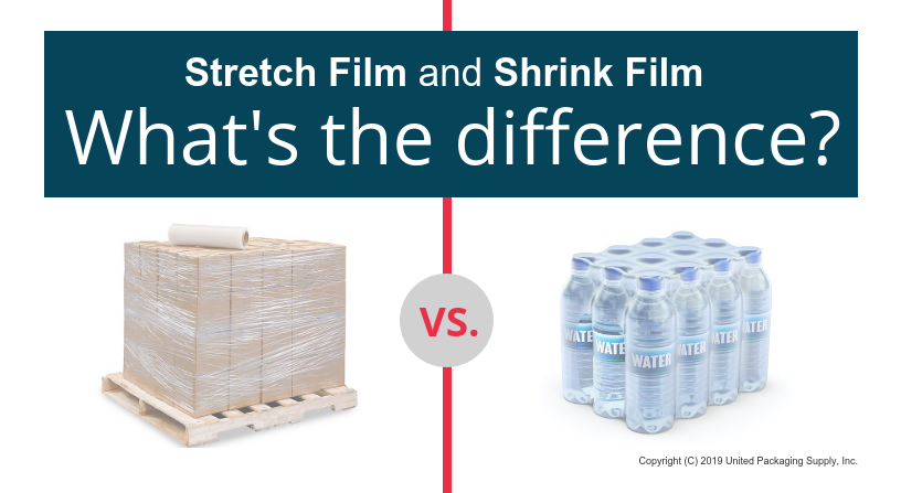 Stretch film and shrink film difference