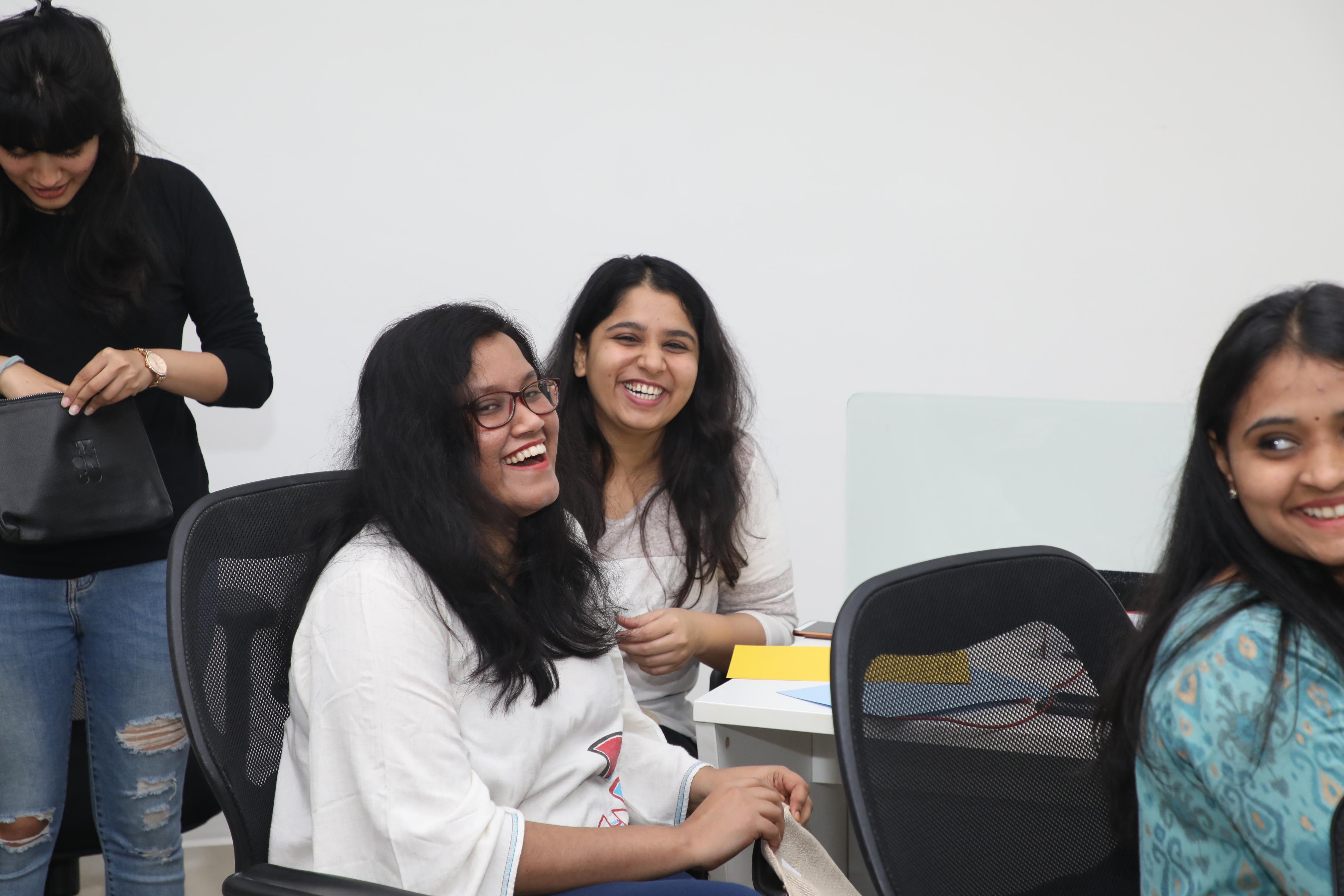 Women's day celebration - smiley faces
