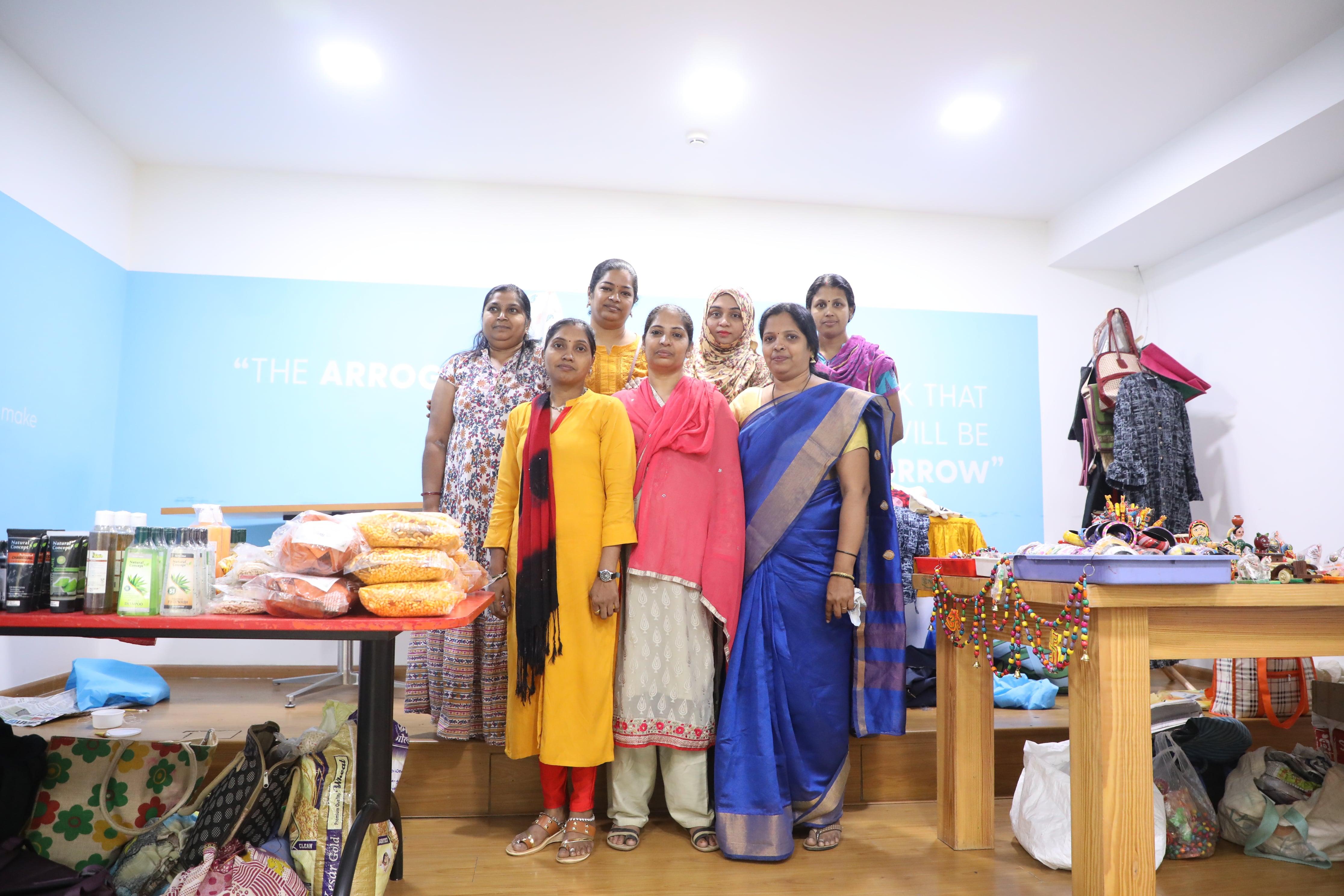 Women's day celebration - pop up stalls NGO