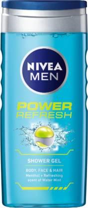 Shower Gel Packaging - Nivea Men Power Refresh