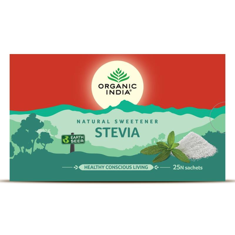 Packaging Design - Organic India Stevia