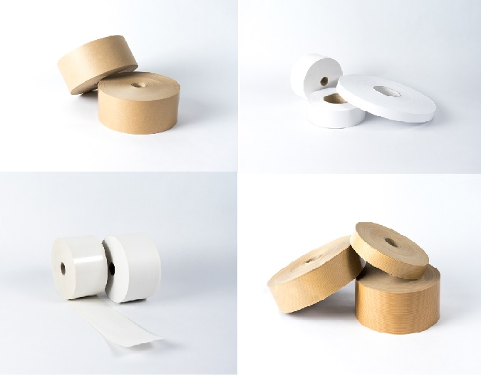 Recyclable Packaging Material - Gummed Paper Tapes