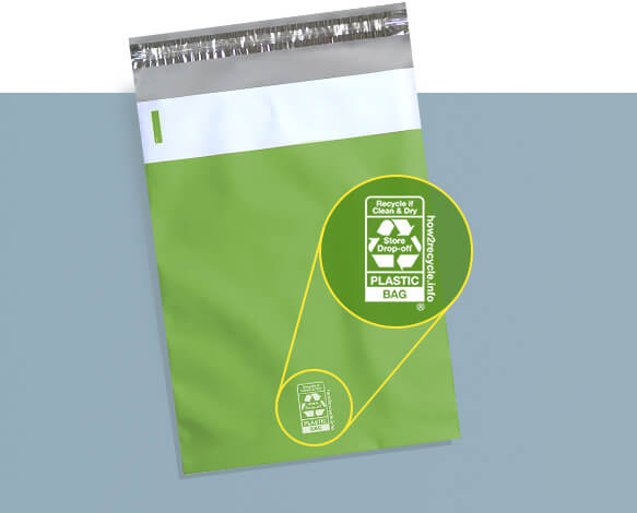 Recyclable Packaging Material - Recyclable Poly Mailers