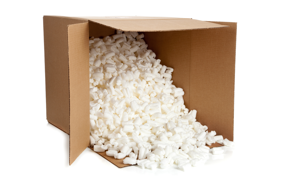 Recyclable Packaging Material - Packing Peanuts