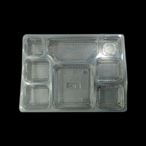 Packaging Material: Plastic Plates &Trays