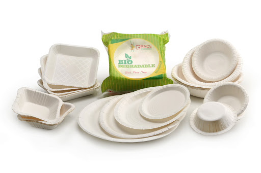 Packaging Material: Paper Plates &Trays