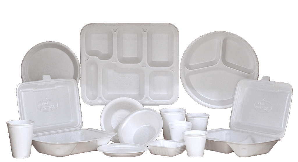 Packaging Material: Thermocol Plates & Trays