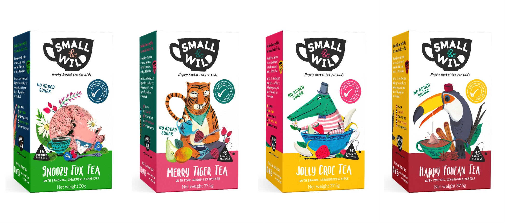 Role of Packaging - Attractive colors | Small & Wild