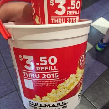 reusable popcorn tubs | cInemark