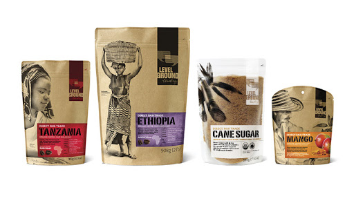Level Ground Trading Biodegradable coffee bags - Zero Waste Packaging