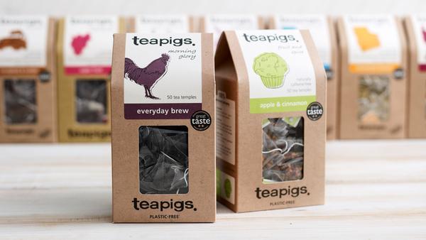 plastic free labelling | Teapigs - Zero Waste Packaging