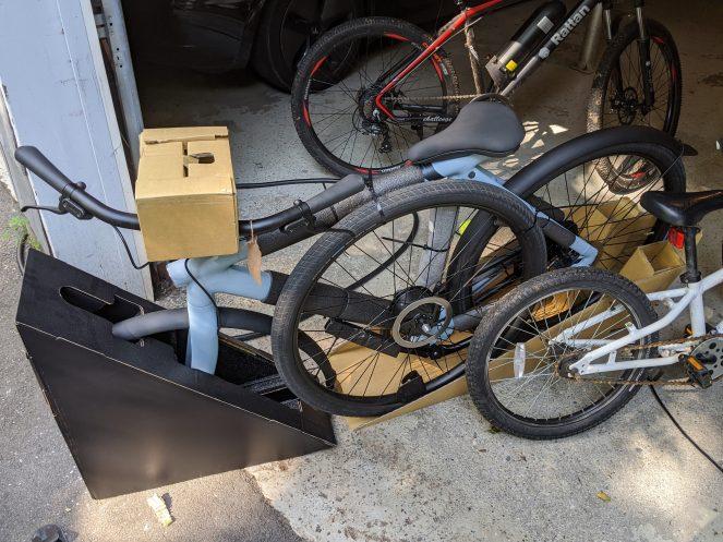 Vanmoof Bicycle Packaging